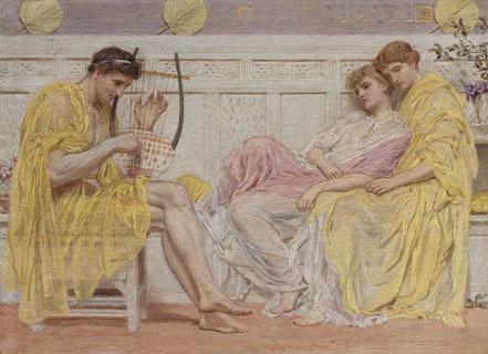 A Musician ca. 1867